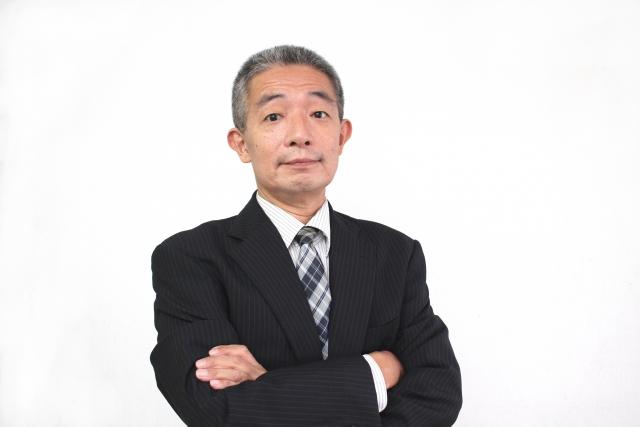 Japanese business man